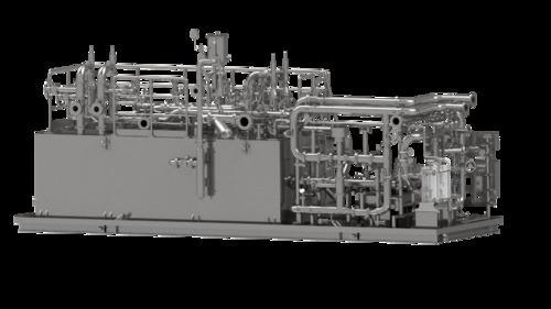 Ölversorgungsanlage; Foto: AEL Apparatebau GmbH